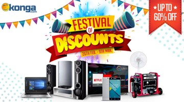 Konga Festival of discounts