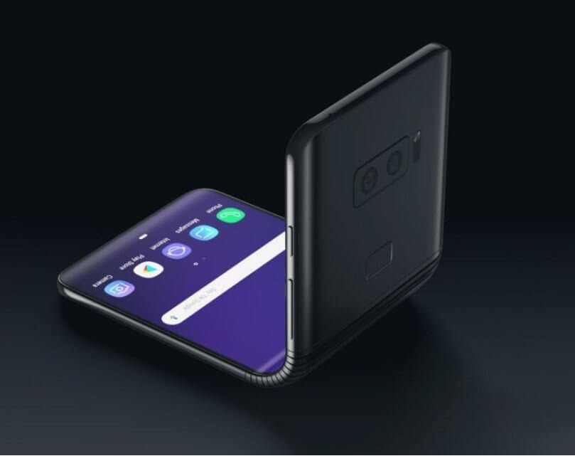 Image result for Samsung sets up 2019 innovation war with foldable smartphone