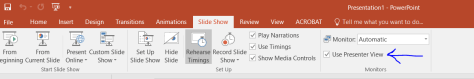 , How-To: Enable or Disable Presenter View in PowerPoint, ICCSD Technology & Innovation Blog
