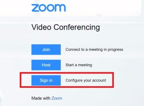 , Resolving Authentication issues in Zoom, ICCSD Technology & Innovation Blog