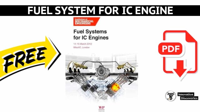 Fuel system for IC engine | PDF
