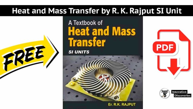 Heat and Mass Transfer by R. K. Rajput SI Unit