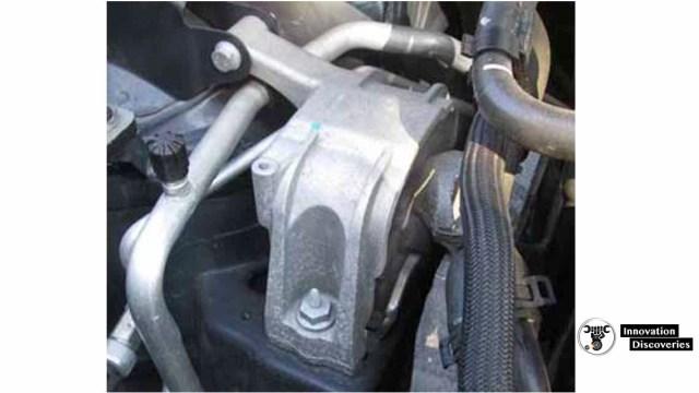 Volkswagen top engine mount