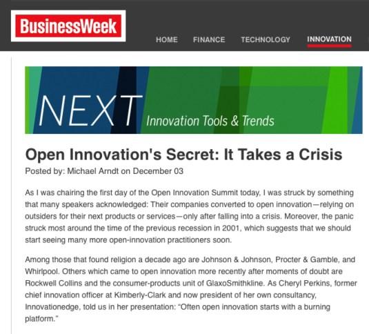 BusinessWeek NEXT Innvation Tools & Trends blog