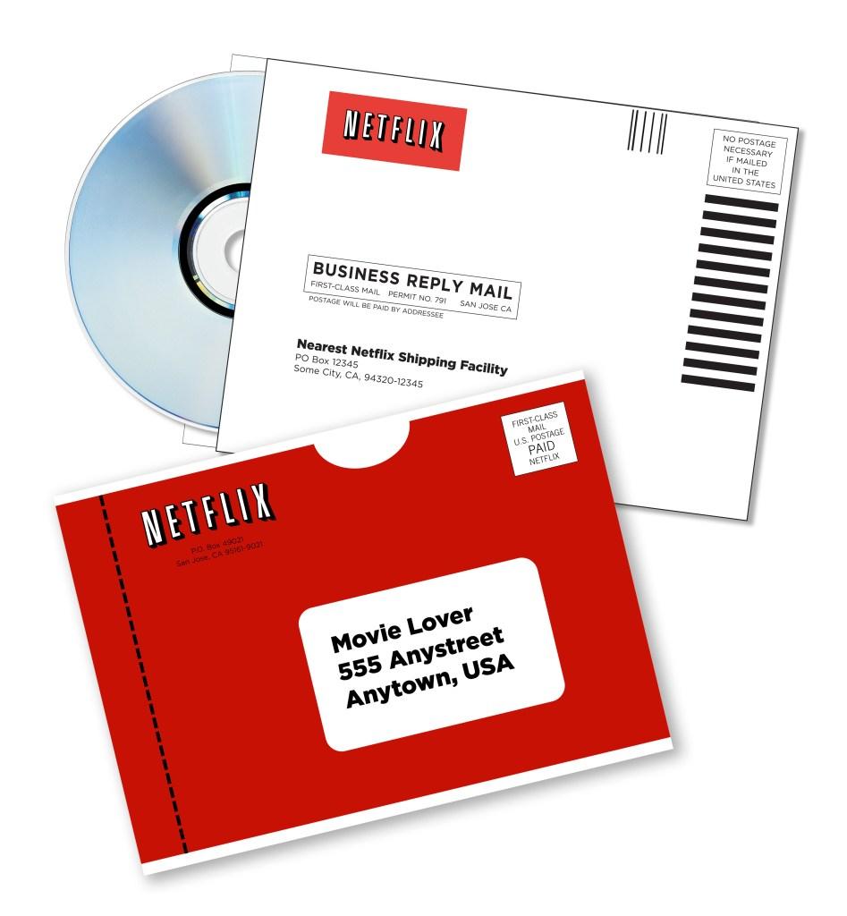 Netflix DVD Mailer (Image Credit: Netflix)