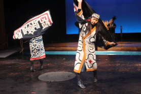 Ainu Dance (simulating the movement of the crane)
