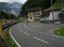 Mini train in the mountrains