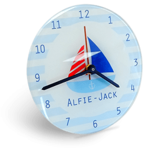 Glass Clock (18cm)