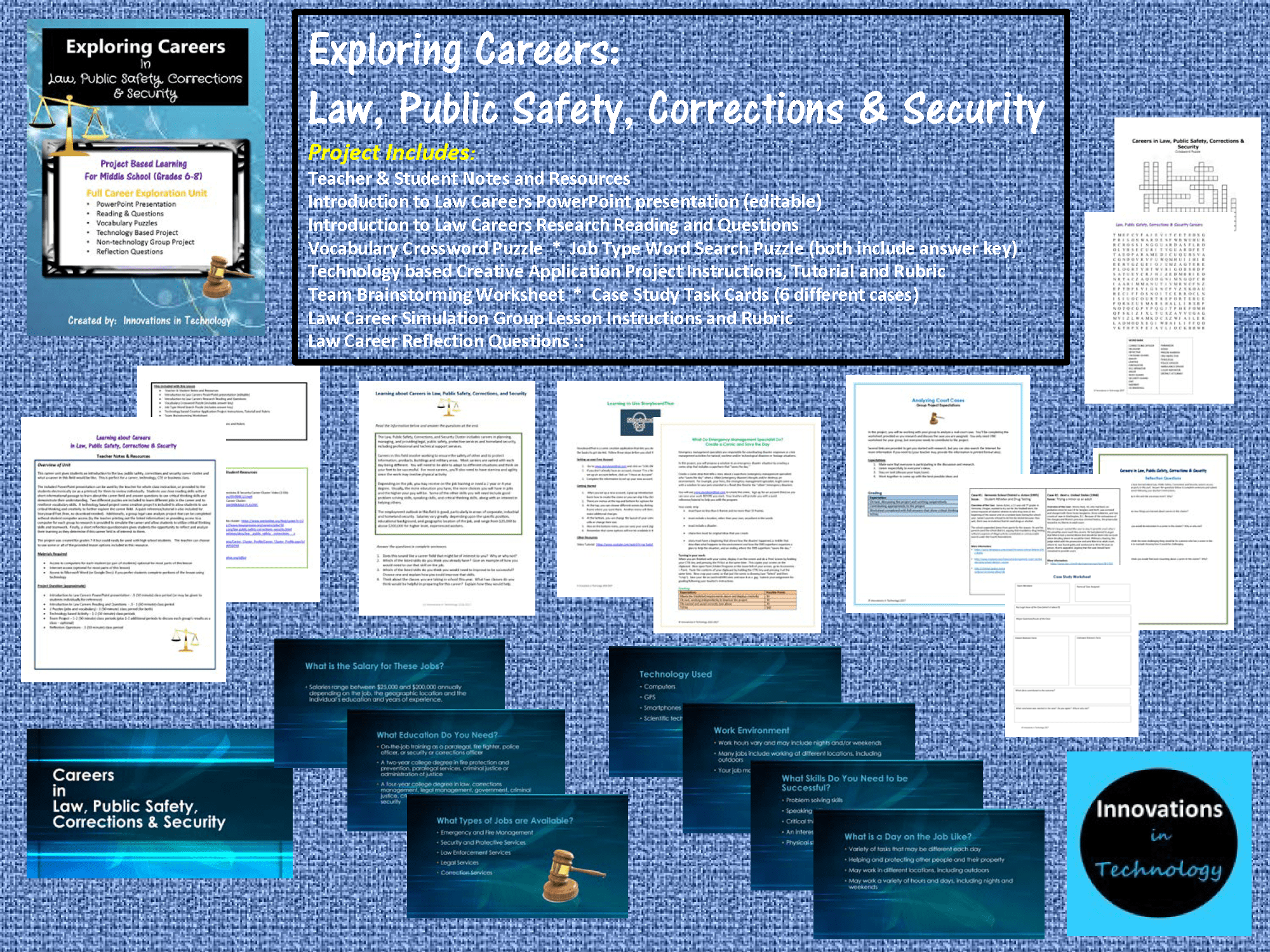 Exploring Careers Law Public Safety Corrections