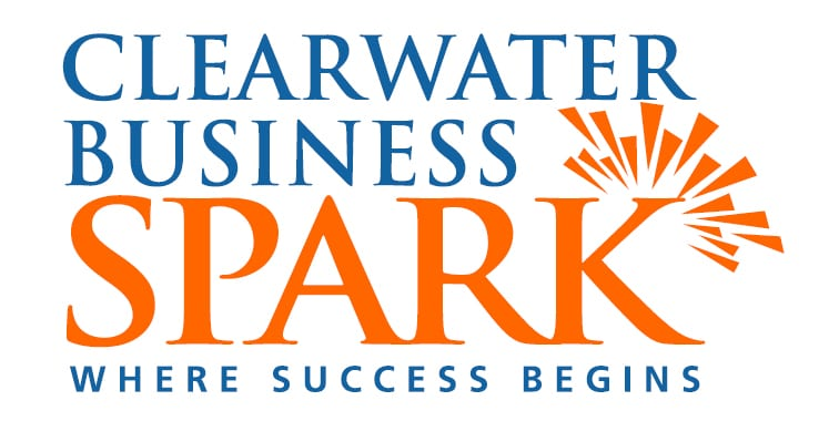 Clearwater business SPARK logo