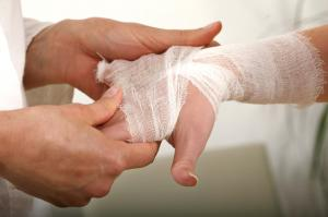 Nanotechnology may one day help to restore burnt tissue. (Credit: iStockphoto/Marina Bartel)