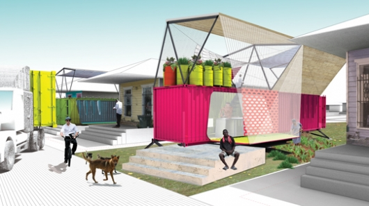 The SEED Project - from unused shipping container to sustainable emergency housing