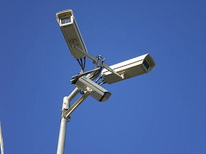 Surveillance video cameras, Gdynia