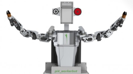 The pi4-workerbot can be adapted to a wide range of tasks (Image: pi4_robotics GmbH)