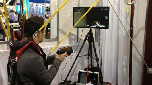 Intellect Motion shows off new motion-sensing gaming devices