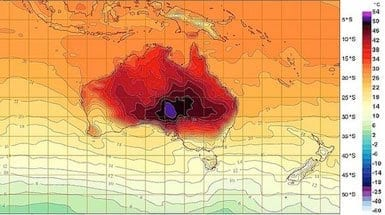 australia-weather-map