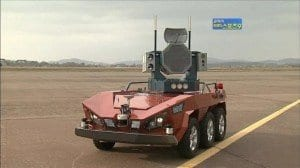 South Korea develops bird strike defense robot