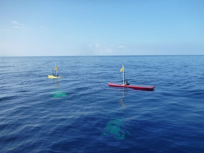 These Autonomous Ocean-Going Robot Boats Just Got Way More Powerful
