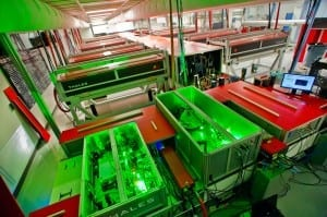 Superfast laser delivers record-breaking peak power of one petawatt