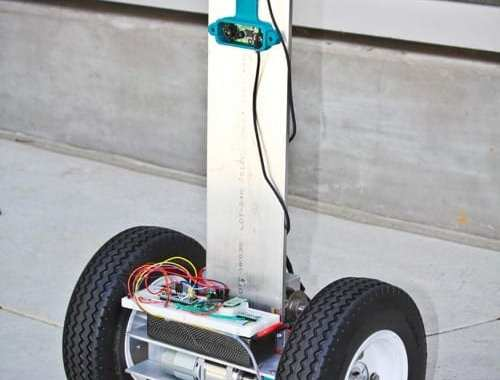 Firefighting Robot Paints 3D Thermal Imaging Picture for Rescuers