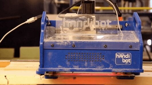 Handibot brings portability and apps to CNC fabrication