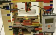 Homemade LEGObot 3D printer does 3D printing on the cheap