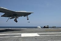 Unmanned X-47B Makes History by Landing on an Aircraft Carrier