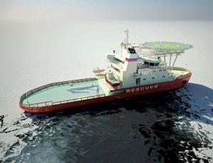 Steer me sideways: icebreaker attacks pack ice side-on