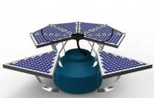 Photoflow Collector Harvests Rainwater and Solar Power for Developing Countries