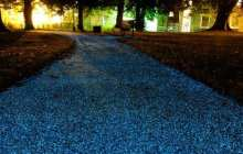Starpath spray-on coating lights up the road