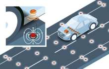 Volvo Car Group tests road magnets for accurate positioning of self-driving cars