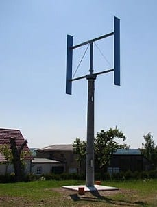 5 Kilowatt Vertical Axis Wind Turbine (Photo credit: Wikipedia)