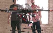 CUPID hexacopter delivers 80,000 volt shock to drone debate