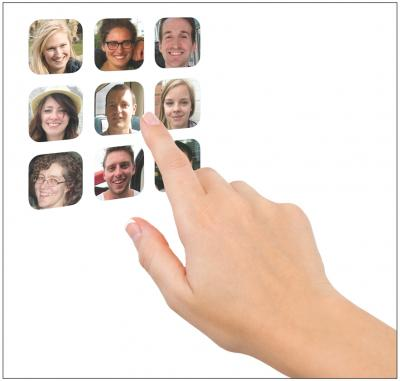 This is an example of how Facelock could be implemented in practice. Credit: Rob Jenkins