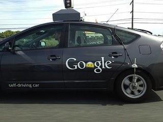 Google's self-driving car (Photo credit: Saad Faruque)