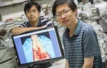 With graphene a narrow enough ribbon will transform a conductor into a semiconductor
