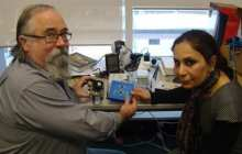 New gadget helps the vision impaired to read graphs