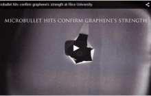 Microbullet hits confirm graphene's strength