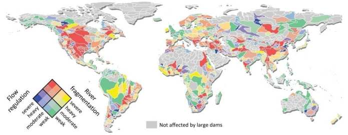 New global dam and river data leads to advanced assessment of impacts of dams from 1930-2030