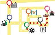 The next step in DNA computing: GPS mapping?