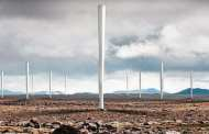 Vortex bladeless turbines wobble to generate energy