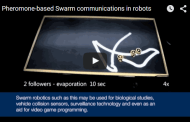 Computer scientists achieve breakthrough in pheromone-based swarm communications in robots