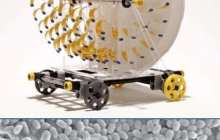 Evaporation-powered Motor and Light