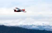 First flight of hydrogen-powered drone with water vapour exhaust