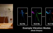"""Reach in and touch objects in videos with """"Interactive Dynamic Video"""""""