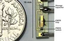 A wireless, battery-less pacemaker that can be implanted directly into a patient's heart powered by microwaves