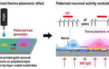 A new nano-photothermal neural stimulation method is inkjet printed