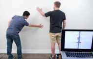 Transforming walls into sensors and interactive surfaces with a paint job