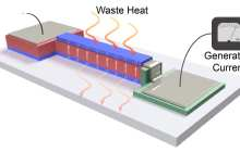 Converting heat from electronics into energy using thin film pyroelectric energy conversion