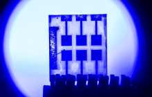 Rapid and cheap optical communication using perovskites